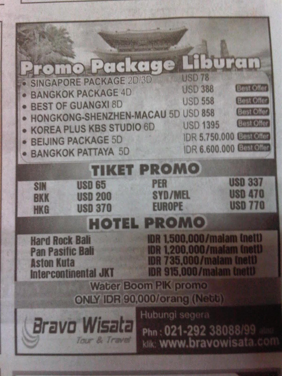 paket wisata murah ke bali termasuk tiket pesawat