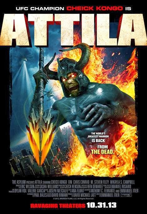 Poster Of English Movie Attila (2013) Free Download Full New Hollywood Movie Watch Online At Alldownloads4u.Com
