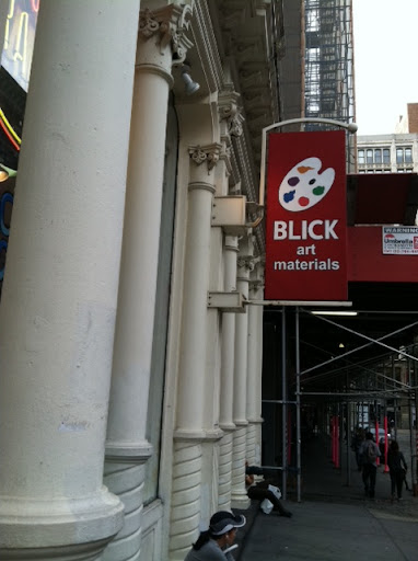 Blick Art Materials on Bond Street in SoHo is a great one-stop shop if you're in need of general supplies.