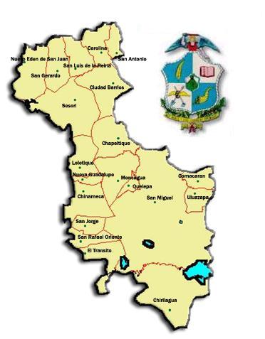 Municipios De San Miguel Municipios De El Salvador