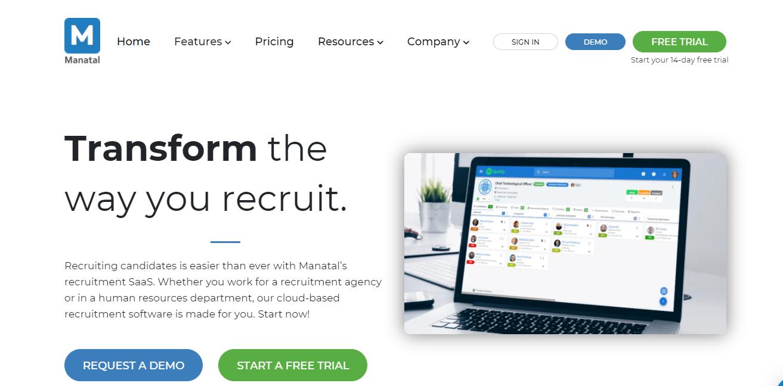 Application Tracking Software - Manatal