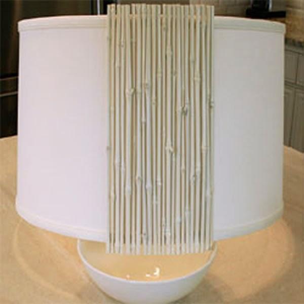 Luminária de bambu - passo 2