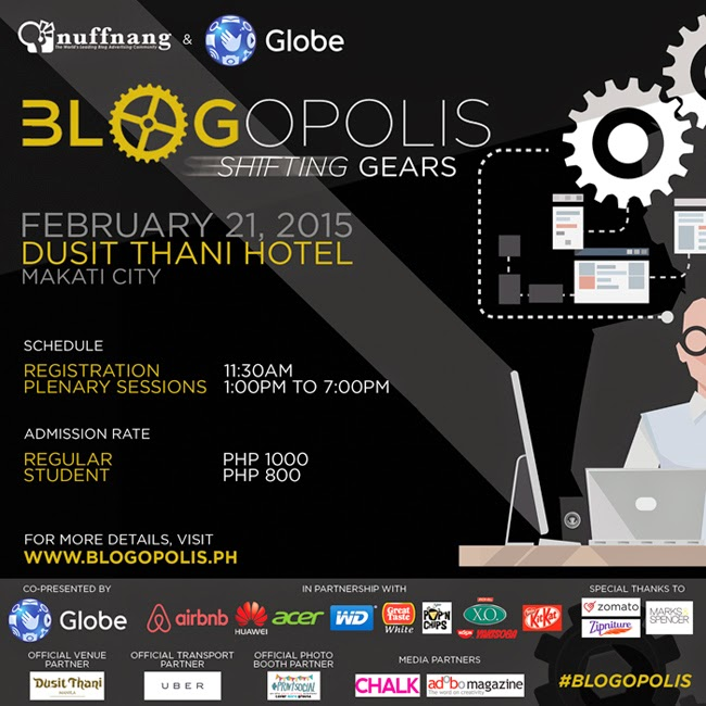 Blogopolis Tickets Giveaway!