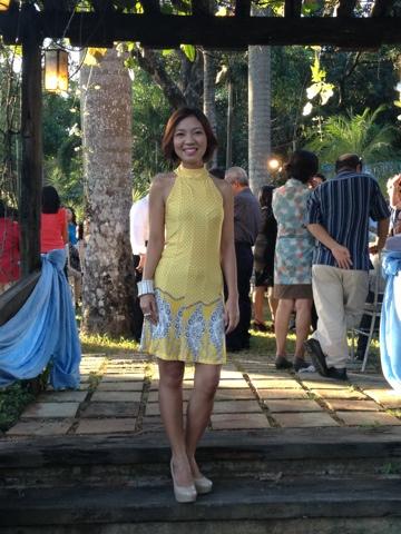 Budget Fashion Seeker - Printed Yellow Dress 1