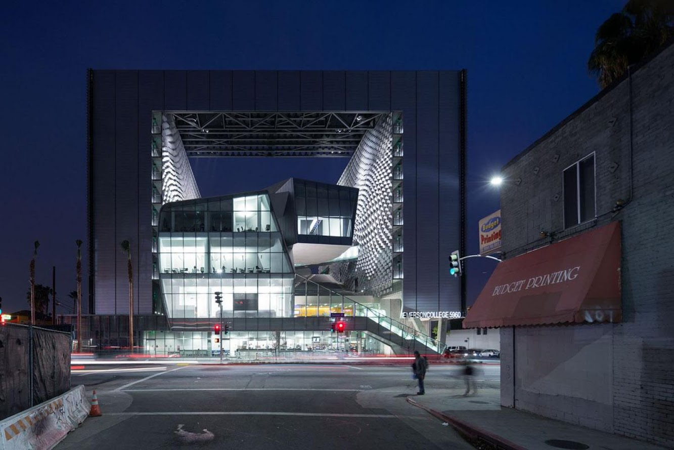 Morphosis: OPEN EMERSON COLLEGE LOS ANGELES by MORPHOSIS ARCHITECTS