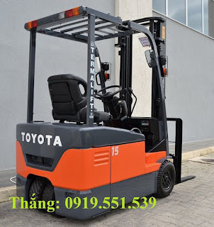 Toyota Battery Forklift 1.5 tons