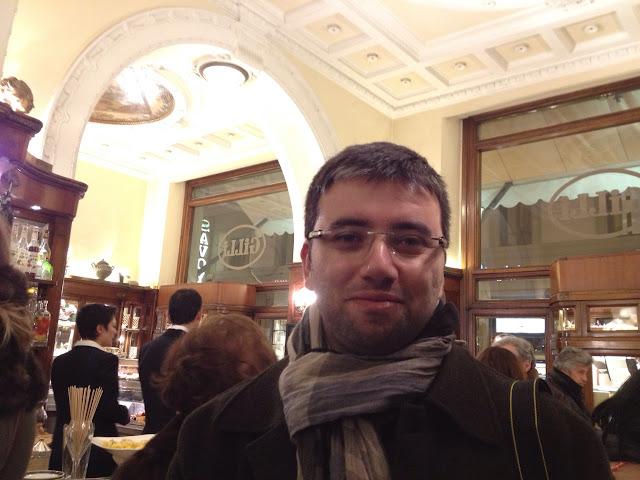 Gilli Cafe'de, Floransa