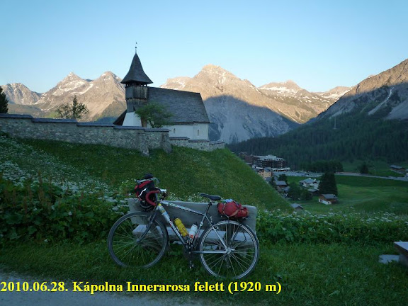 Innerarosa, aszfalt vége / Alpen, Alps , Alpok -  Györgyi Gábor