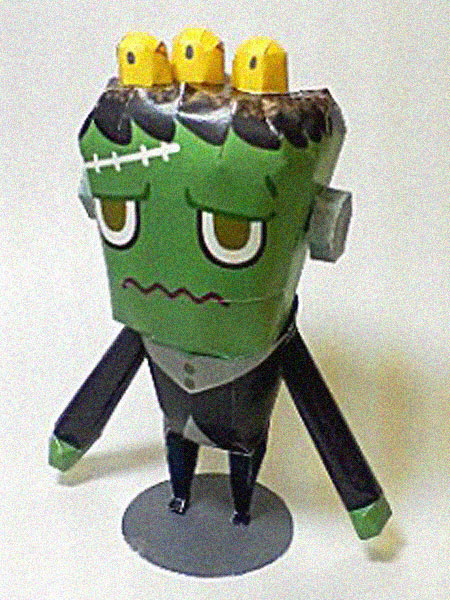 Ivan the Frankenmonster Papercraft