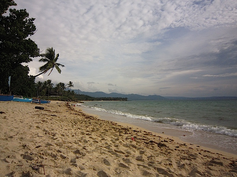 Saud Beach in Pagudpud, Ilocos Norte