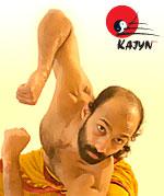 Maître Shyne Tharappel Thankappan professeur de Kalaripayat Kalarippayattu