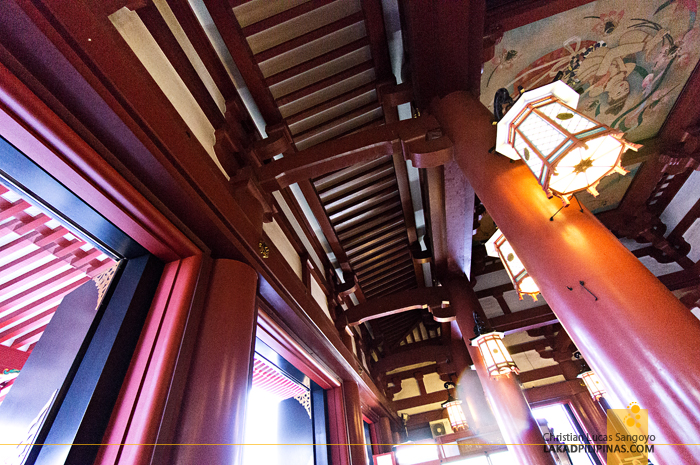 Inside Asakusa's Sensoji Temple