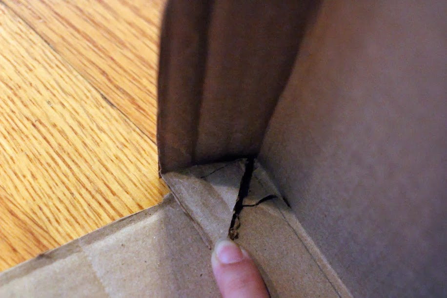 inside cut corner