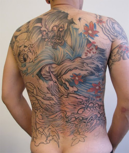 dragon tattoo for men
