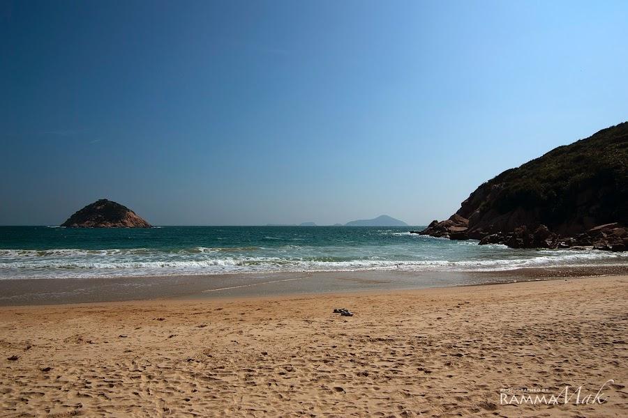 石澳泳灘的另一邊