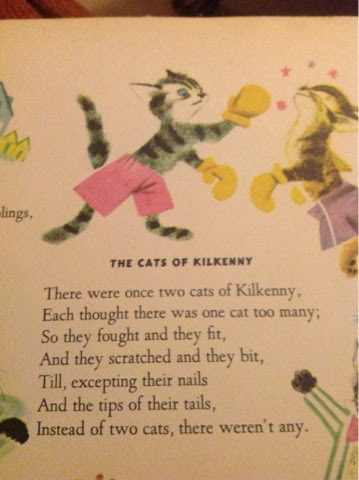 two cats of kilkenny nursery rhyme