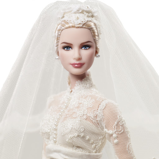 BFMC Grace Kelly The Bride Doll, diseñada por Robert Best