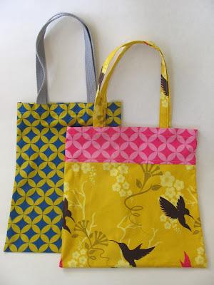 como fazer bolsa de tecido para mercado