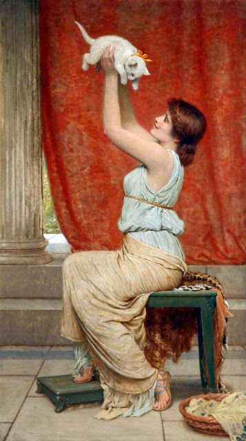 Charles Edward Perugini - At Play