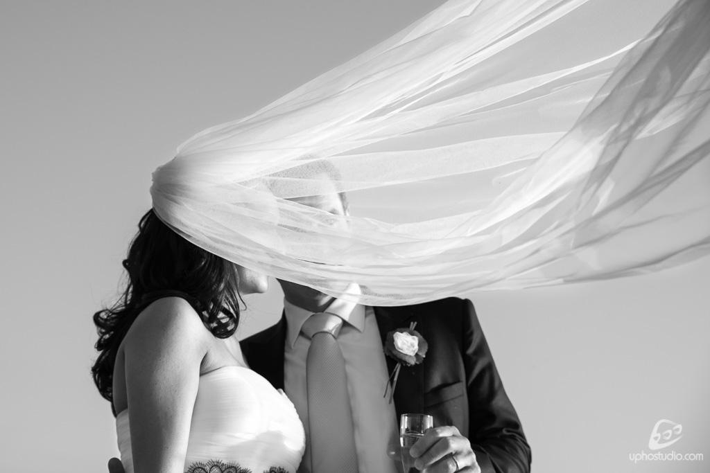 Velo sposi fotografia matrimonio