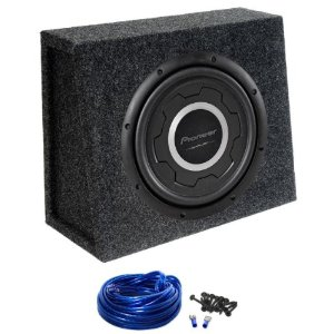 Shallow mount subwoofer at m