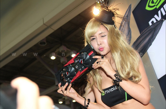 Showgirl G-star 2012: Cha Sun Hwa - Ảnh 49