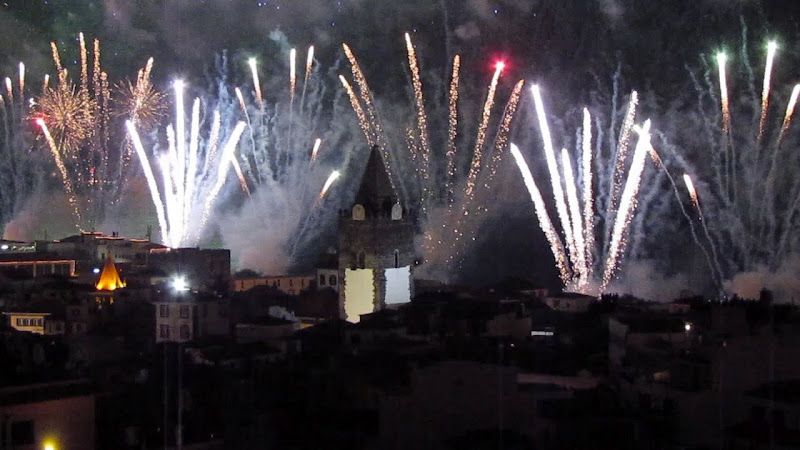 Happy new year from Funchal city in Madeira island