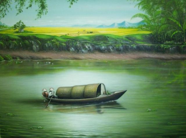 Những bài thơ tình buồn viết về con đò, cô lái đò xưa