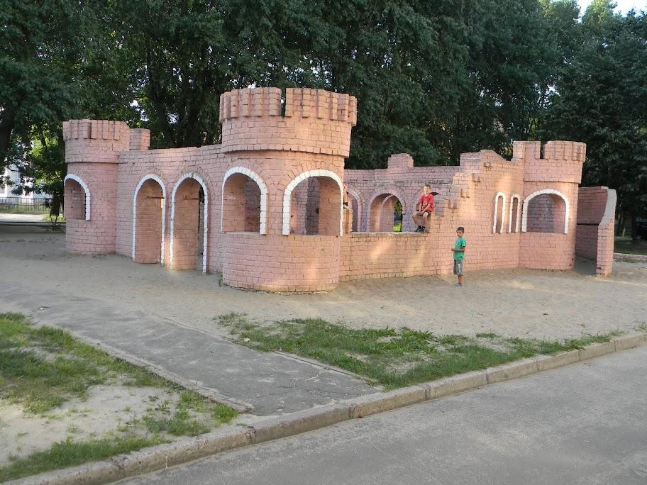 детская крепость
