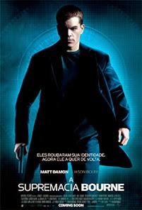 A Supremacia Bourne Poster