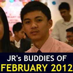JR's Buddies of February 2012