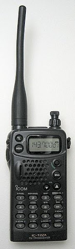 2 meter band handheld transceiver