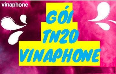 Gọi Nội mạng, Ngoại mạng Miễn phí chỉ 20.000 đ cùng gói TN20 VinaPhone
