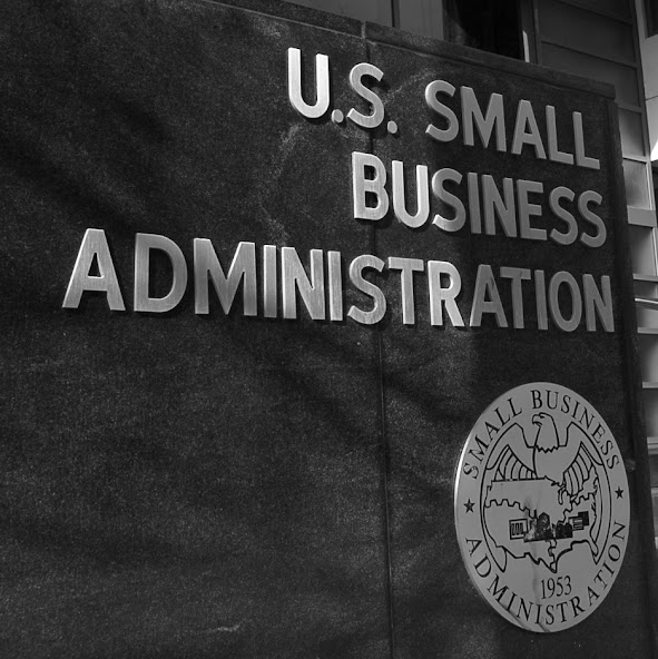 U.S. Small Business Administration front in Washington D.C.