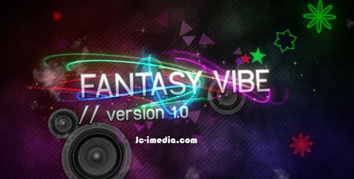 After Effect Project Fantasy Vibe V1