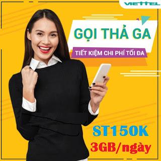Nhận 90GB Miễn phí, xem Phim Vô tư Gói ST150K Viettel