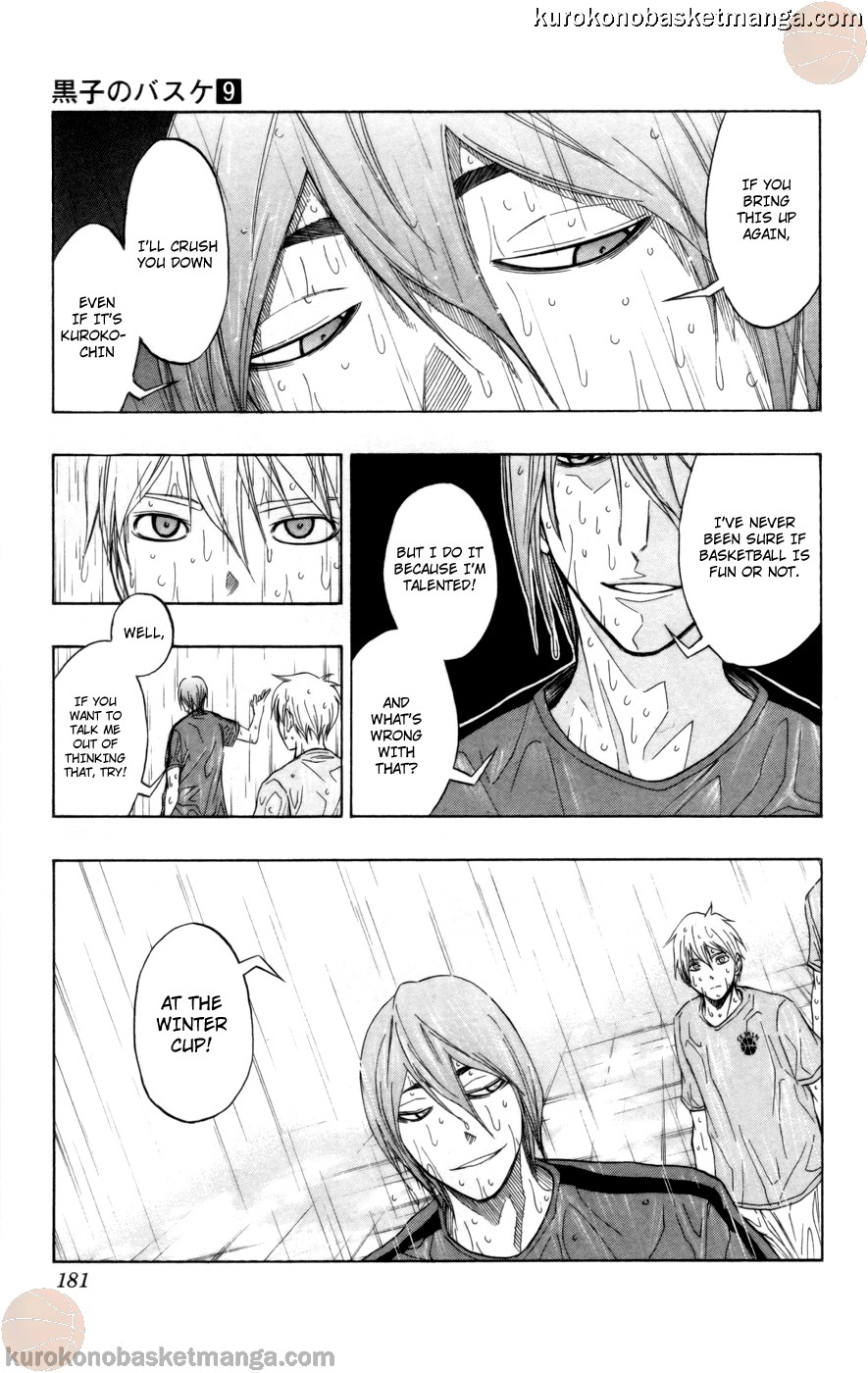 Kuroko no Basket Manga Chapter 79 - Image 15
