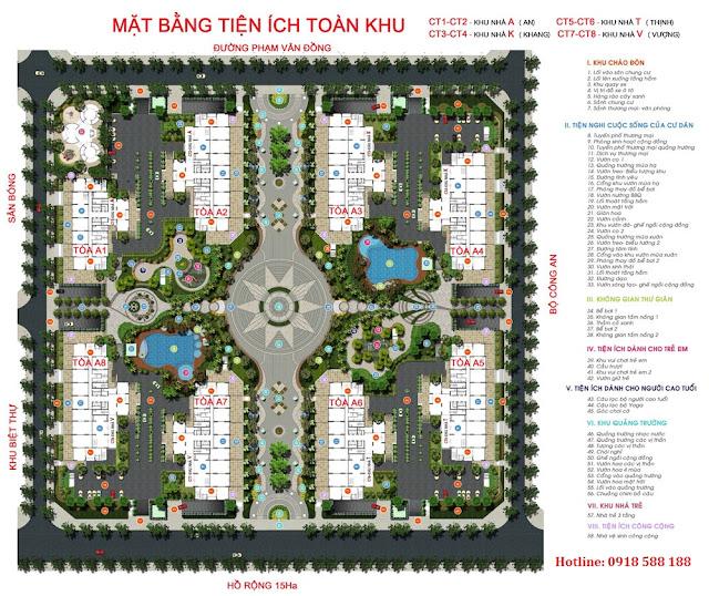 Tiện ích cao cấp tại chung cư An Bình City