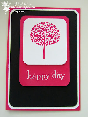 stampin up, challenges, valentine defined, happy day, geburtstag, birthday, envelope punch board