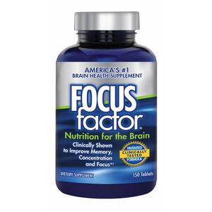 Viên uống Focus Factor bổ não tăng cường trí nhớ giảm stress