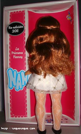 nancys de coleccion la primera nancy 1968 vista posterior de la muñeca