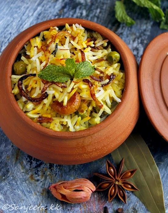 Recipe | Vegetable Biryani -