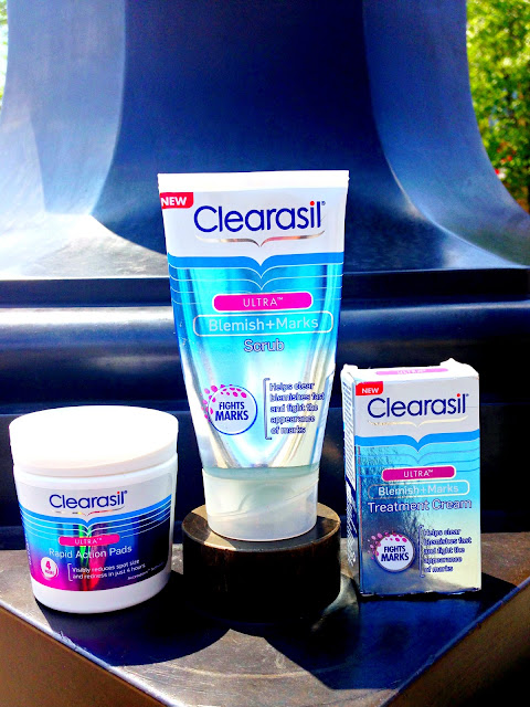Fashstyleliv Skin Care For Acne Review Clearasil Ultra Blemish Marks Range