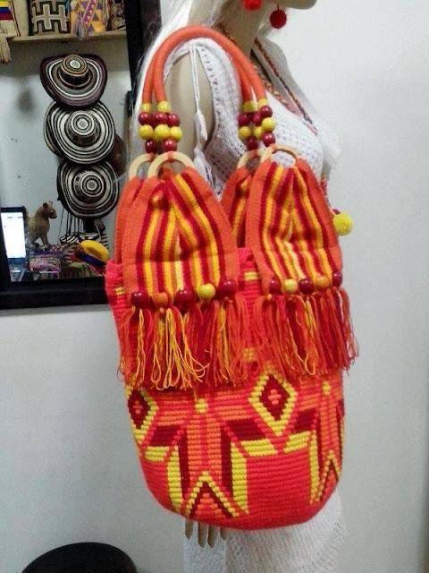 Bolso Wayuu con Cremallera Ref. 4