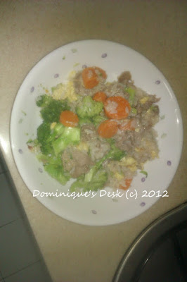 fried rice lunch