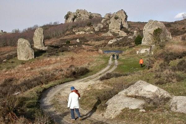 Argimusco - megaliti