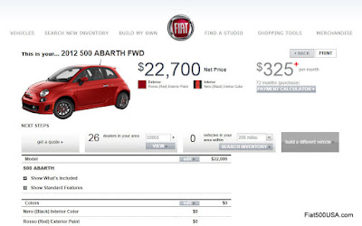 fiat 500 abarth configurator online get your order in now fiat 500 usa. Black Bedroom Furniture Sets. Home Design Ideas