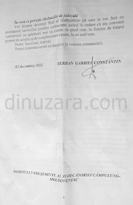 Primarul Gabriel Constantin Serban se declara impotent in fata judecatorilor