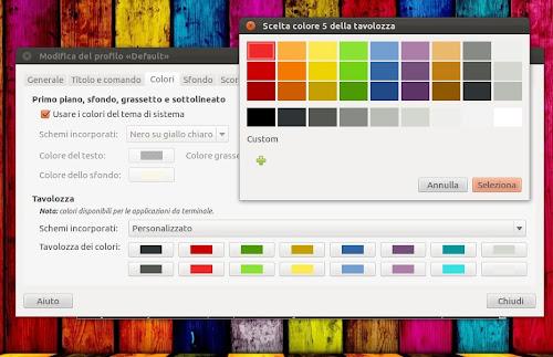 Ubuntu 12.04 gestione dei colori