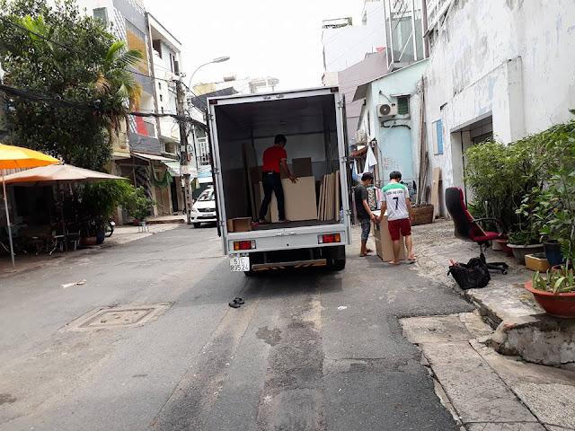 Thuê xe tải Liên Minh Sài Gòn